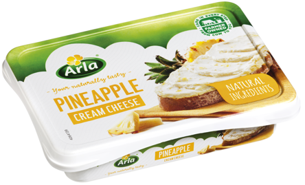 Cream Cheese with pineapple